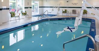 安克雷奇市中心区费尔菲尔德酒店 - 安克雷奇 - 游泳池
