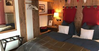 加尼豪斯阿尔卑斯酒店 - 鲁波尔丁 - 睡房