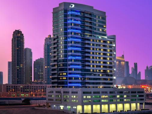 达玛克梅森运河景公寓式酒店 - 迪拜 - 建筑
