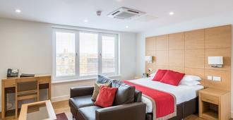 国王路公寓式酒店 - 雷丁 - 睡房