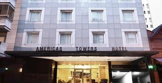 青色美洲大厦酒店 - 布宜诺斯艾利斯 - 建筑