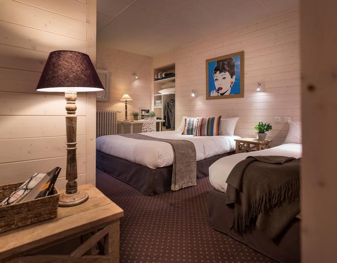 阿尔卑斯酒店 - 阿讷西 - 睡房