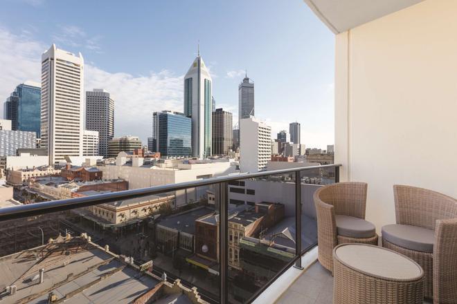 珀斯巴拉克广场阿迪纳公寓酒店 - 珀斯 - 阳台