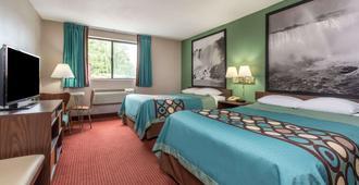 纽约州尼加拉瀑布温德姆速 8 酒店 - 尼亚加拉瀑布 - 睡房