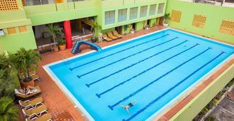 艾亚体育俱乐部bts经济型酒店 - 曼谷 - 游泳池