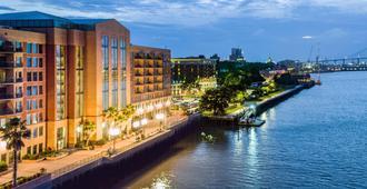 萨凡纳万豪河滨酒店 - 萨凡纳 - 户外景观