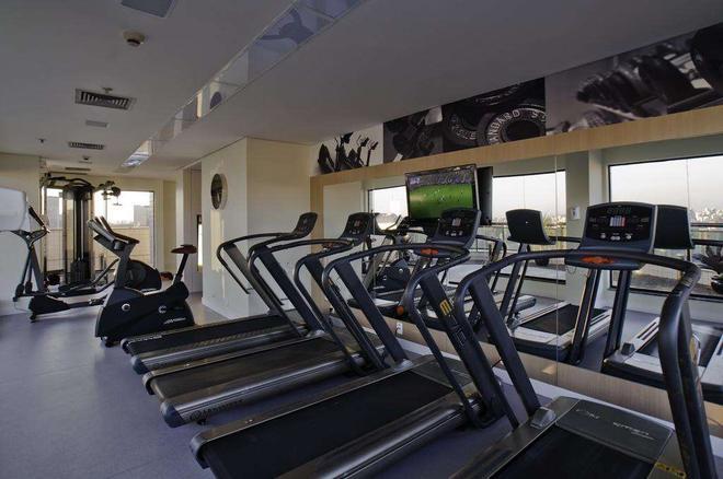 法利亚利马蓝树高级酒店 - 圣保罗 - 健身房