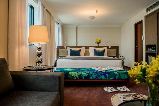法利亚利马蓝树高级酒店 - 圣保罗 - 睡房