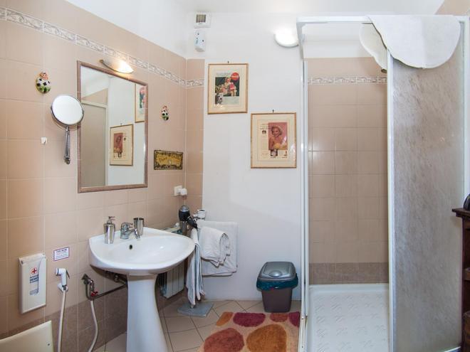 塔尔崇豪华住宿加早餐旅馆 - 塔尔奎尼亚 - 浴室