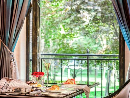 西安索菲特传奇酒店 - 西安 - 阳台
