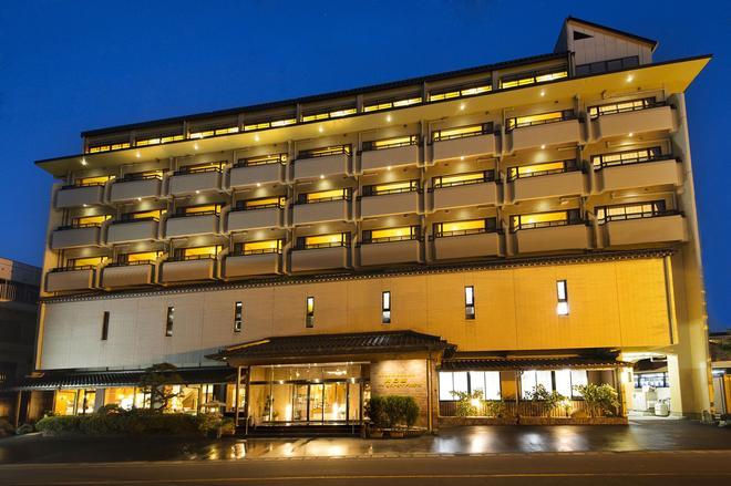 川口屋城崎河滨酒店 - 丰冈市 - 建筑