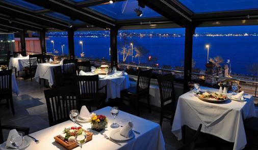伊斯坦布尔阿马达老城酒店 - 伊斯坦布尔 - 餐馆