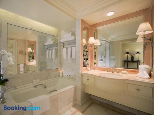 比佛利山庄半岛酒店 - 洛杉矶 - 浴室