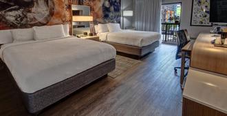 纳什维尔范德比尔特/西区万豪斯庭院酒店 - 纳什维尔 - 睡房