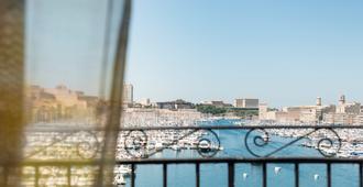 宝瓦马赛旧港酒店 - 美憬阁酒店 - 马赛 - 阳台