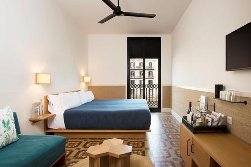 卡萨博馁酒店 - 巴塞罗那 - 睡房