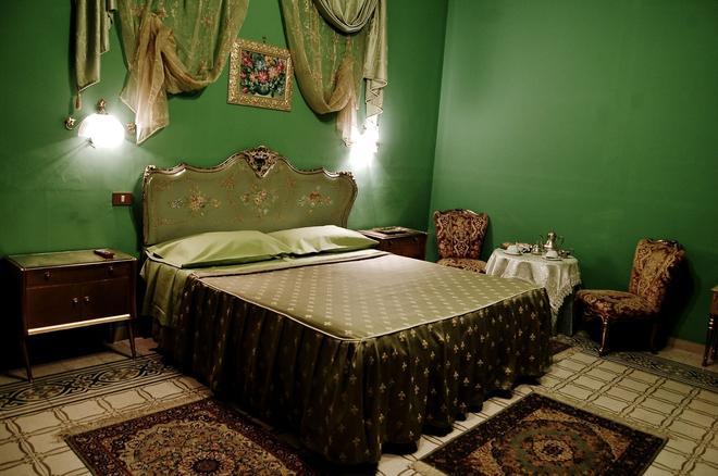 亚历山德拉酒店 - 巴勒莫 - 睡房