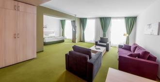 阿马蹄酒店 - 布拉索夫 - 客厅
