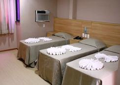 里约热内卢加利西亚酒店 - 里约热内卢 - 睡房