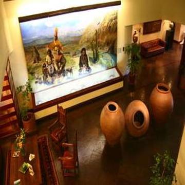 阿尔玛克鲁斯酒店和会议中心 - 圣地亚哥 - 大厅