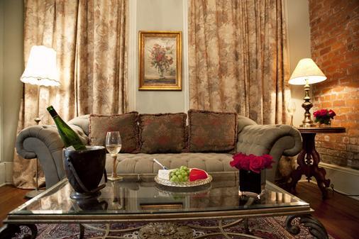 新奥尔良爵士区-法国区尤尼克克里奥尔酒店 - 新奥尔良 - 客厅