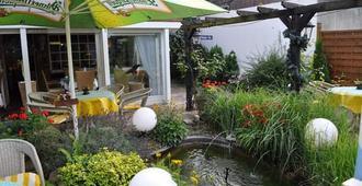 北豪真酒店&餐厅 - 汉诺威 - 露台