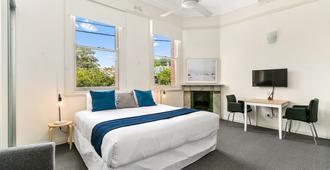 埃克塞尔西奥服务式公寓酒店 - 悉尼 - 睡房