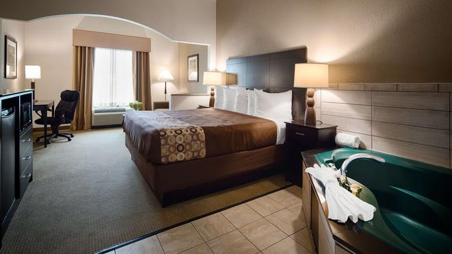 西佳套房酒店 - 哥伦布 - 睡房