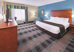 休斯敦霍比机场温德姆拉昆塔套房酒店 - 休斯顿 - 睡房