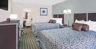 市场中心戴斯酒店 - 达拉斯 - 睡房