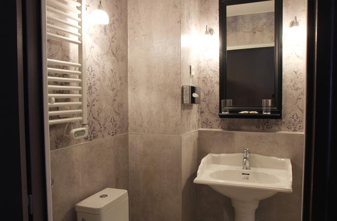 最佳西方古斯塔夫福楼拜文学酒店 - 鲁昂 - 浴室