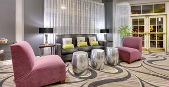 达拉斯北中心拉金塔旅馆及套房酒店 - 达拉斯 - 客厅