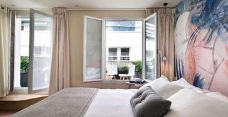 巴黎麦克斯酒店 - 巴黎 - 睡房