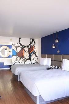大学旅馆 - 土桑 - 睡房