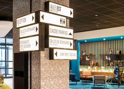 宜必思巴黎戴高乐机场酒店 - 弗朗斯地区特朗布莱 - 大厅