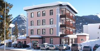 康坎迪亚酒店 - 达沃斯 - 建筑