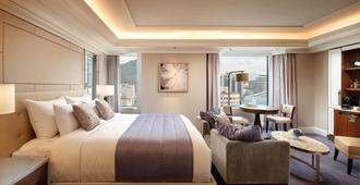 首尔乐天酒店 - 首尔 - 睡房