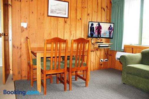 汉默温泉小木屋汽车旅馆 - 汉默温泉 - 餐厅
