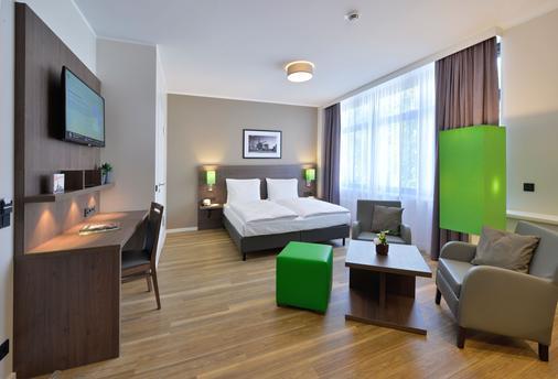 汉堡明智时光公寓式酒店 - 汉堡 - 睡房