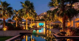 阿布扎比萨迪亚特岛瑞吉度假酒店 - 阿布扎比 - 游泳池