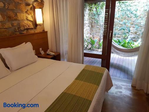 指针旅馆 - São Miguel do Gostoso - 睡房