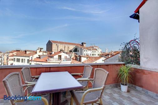 罗坎达戴尔阿克酒店 - 威尼斯 - 阳台