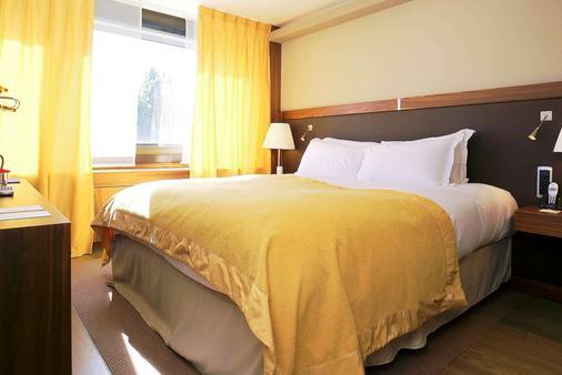 里昂贝勒库尔索菲特酒店 - 里昂 - 睡房