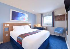卡蒂夫大西洋码头酒店旅游旅馆 - 卡迪夫 - 睡房