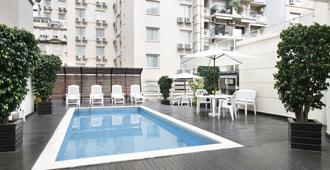 青色美洲大厦酒店 - 布宜诺斯艾利斯 - 游泳池