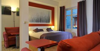 吕德斯海姆布鲁尔城堡酒店 - 吕德斯海姆 - 睡房