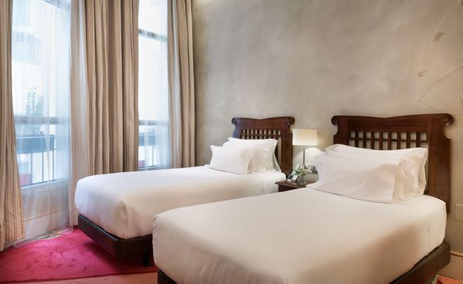 马德里普拉多大道nh精品酒店 - 马德里 - 睡房