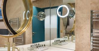 伊姆佩拉托阿巴尔宅邸酒店 - 尼姆 - 浴室