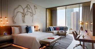 迪拜市中心万丽酒店 - 迪拜 - 睡房