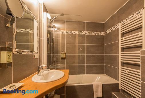 大蒙特酒店 - 夏蒙尼-勃朗峰 - 浴室